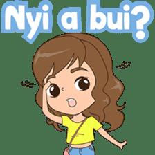 Fun girl from Pontianak sticker #8172488