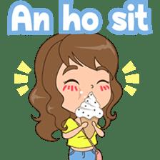 Fun girl from Pontianak sticker #8172489