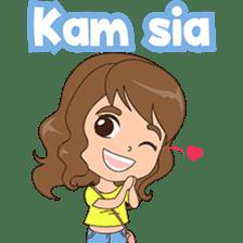 Fun girl from Pontianak sticker #8172492