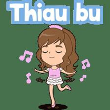 Fun girl from Pontianak sticker #8172494