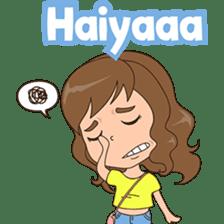 Fun girl from Pontianak sticker #8172496