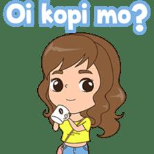 Fun girl from Pontianak sticker #8172514