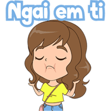 Fun girl from Pontianak sticker #8172517