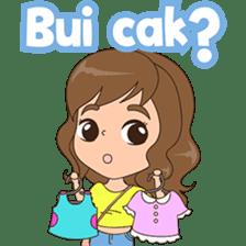 Fun girl from Pontianak sticker #8172520
