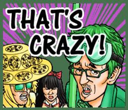 MOBANOFU THE CRAY CRAY IDOL OTAKU sticker #8175521
