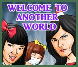 MOBANOFU THE CRAY CRAY IDOL OTAKU sticker #8175539