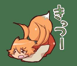 kitsunemiko3 sticker #8179410