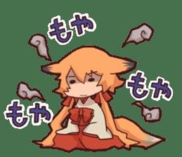 kitsunemiko3 sticker #8179412