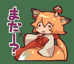 kitsunemiko3 sticker #8179415