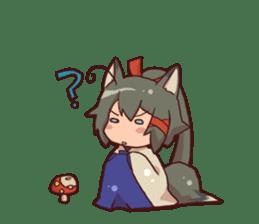 kitsunemiko3 sticker #8179432