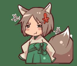 kitsunemiko3 sticker #8179439