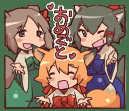 kitsunemiko3 sticker #8179442