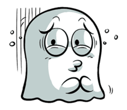 Ghossi (The small ghost) sticker #8187156