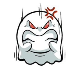 Ghossi (The small ghost) sticker #8187160