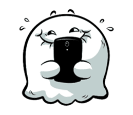 Ghossi (The small ghost) sticker #8187161