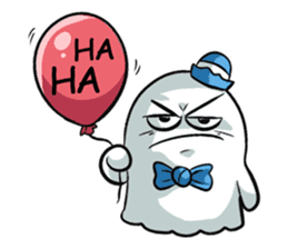 Ghossi (The small ghost) sticker #8187164