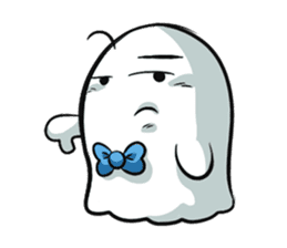 Ghossi (The small ghost) sticker #8187165