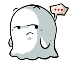 Ghossi (The small ghost) sticker #8187170