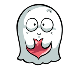 Ghossi (The small ghost) sticker #8187171