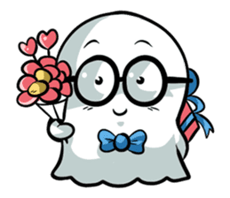 Ghossi (The small ghost) sticker #8187173