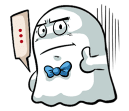 Ghossi (The small ghost) sticker #8187179