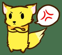 Fox and Raccoon dog 2 sticker #8191271
