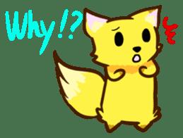 Fox and Raccoon dog 2 sticker #8191277