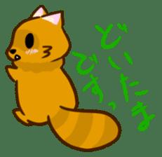 Fox and Raccoon dog 2 sticker #8191298