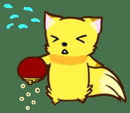 Fox and Raccoon dog 2 sticker #8191300