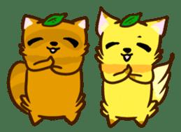 Fox and Raccoon dog 2 sticker #8191307