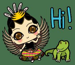 Cute Garuda Nusantara Fairy sticker #8192268