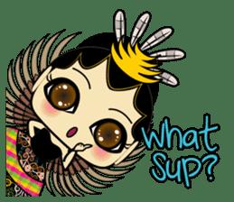 Cute Garuda Nusantara Fairy sticker #8192270
