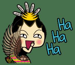 Cute Garuda Nusantara Fairy sticker #8192271