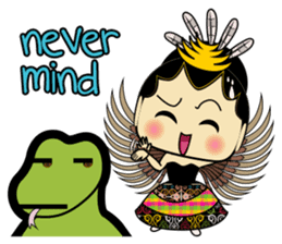 Cute Garuda Nusantara Fairy sticker #8192273