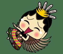 Cute Garuda Nusantara Fairy sticker #8192275