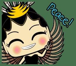 Cute Garuda Nusantara Fairy sticker #8192276