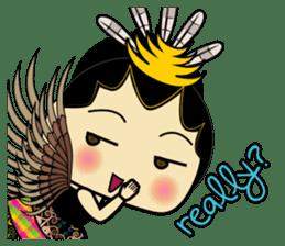 Cute Garuda Nusantara Fairy sticker #8192280