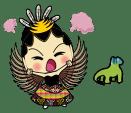 Cute Garuda Nusantara Fairy sticker #8192281