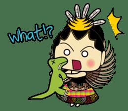 Cute Garuda Nusantara Fairy sticker #8192282