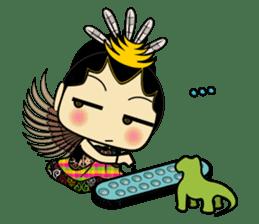 Cute Garuda Nusantara Fairy sticker #8192283