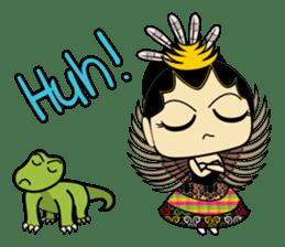 Cute Garuda Nusantara Fairy sticker #8192286
