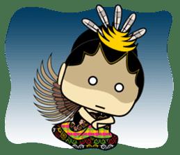 Cute Garuda Nusantara Fairy sticker #8192288