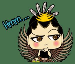 Cute Garuda Nusantara Fairy sticker #8192292