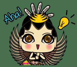 Cute Garuda Nusantara Fairy sticker #8192293