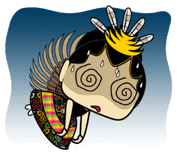 Cute Garuda Nusantara Fairy sticker #8192294