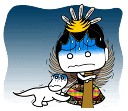 Cute Garuda Nusantara Fairy sticker #8192295