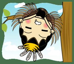 Cute Garuda Nusantara Fairy sticker #8192296
