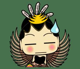 Cute Garuda Nusantara Fairy sticker #8192297