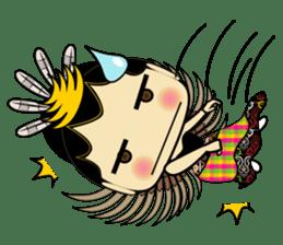 Cute Garuda Nusantara Fairy sticker #8192298