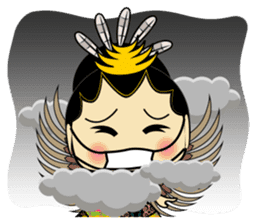 Cute Garuda Nusantara Fairy sticker #8192299